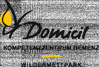 Logo Domicil Kompetenzzentrum Demenz Wildermettpark