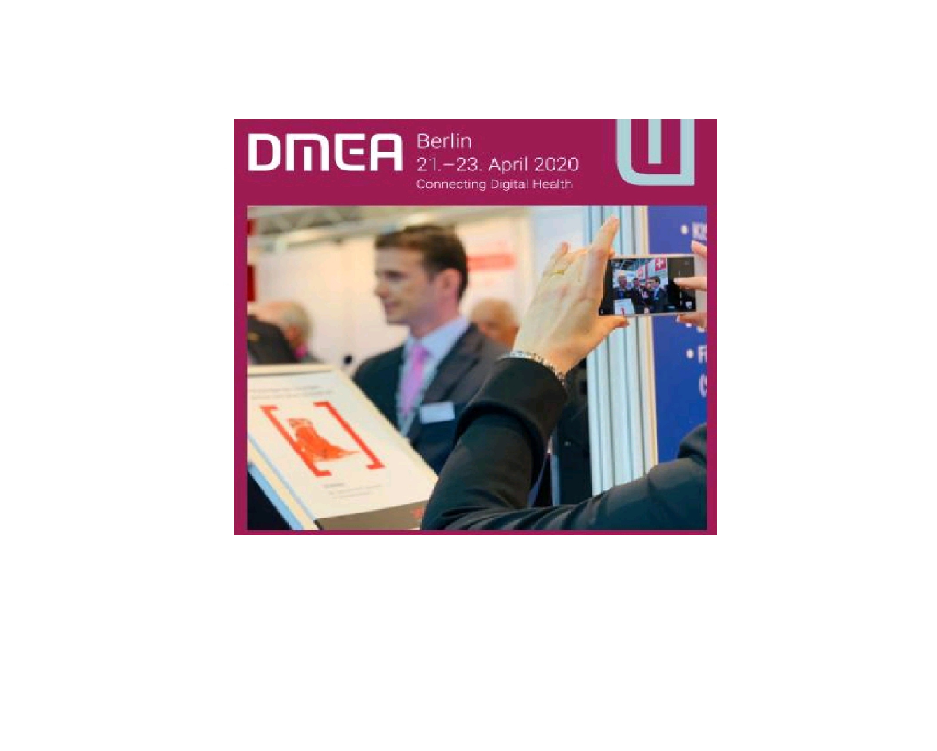 Save the date: OPAN an der DMEA 2020 in Berlin (21.-23.4.20)